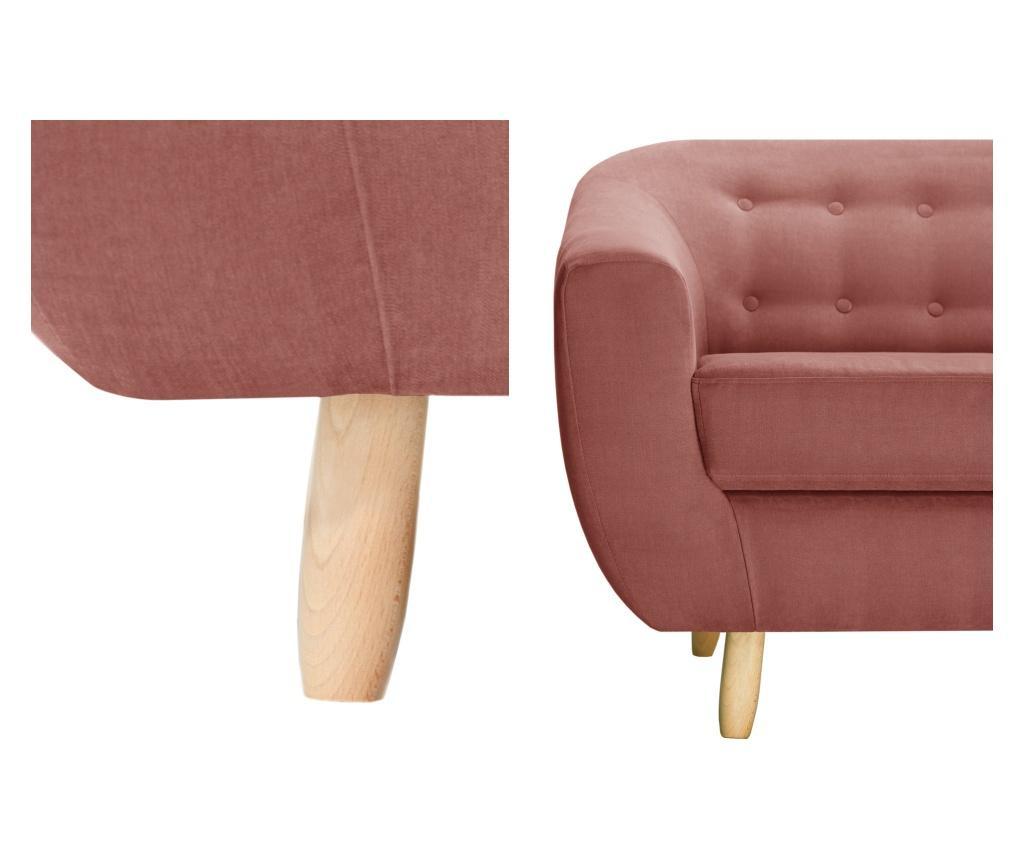 Canapea 2 locuri Vicky Peach