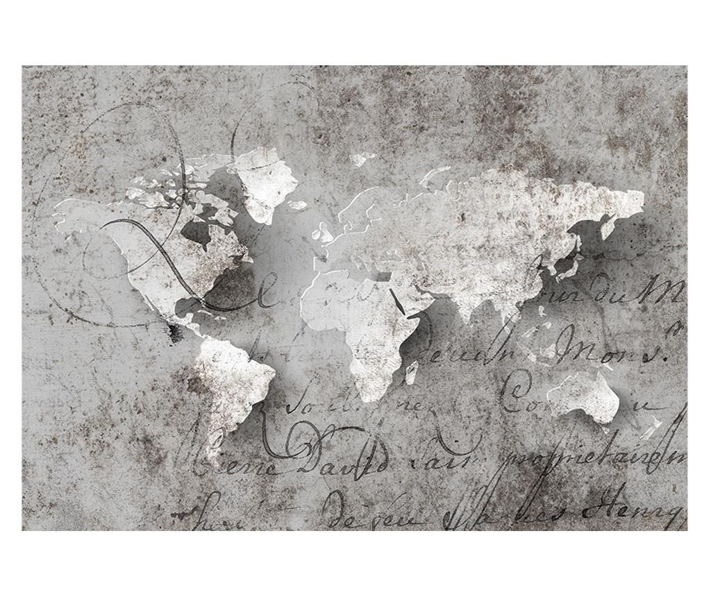 Map And Letter Fotótapéta 280x400 cm