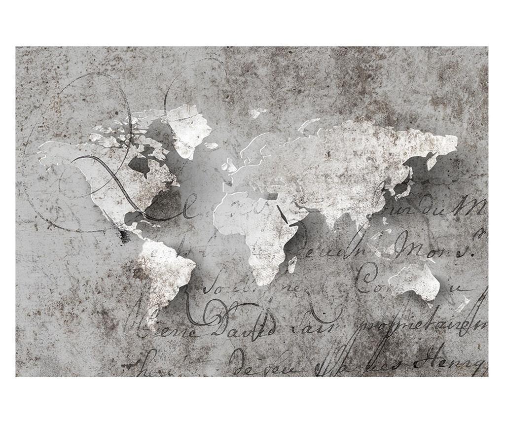 Map And Letter Fotótapéta 70x100 cm
