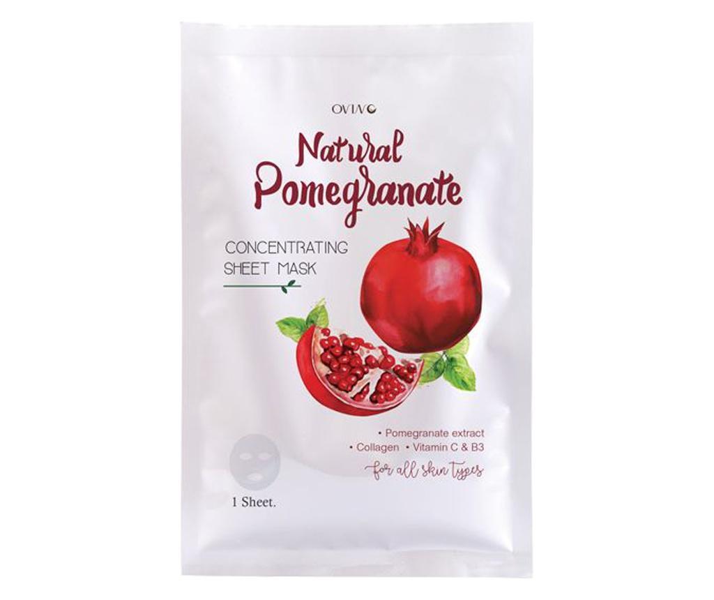 Masca de fata Natural Pomegranate 30 ml