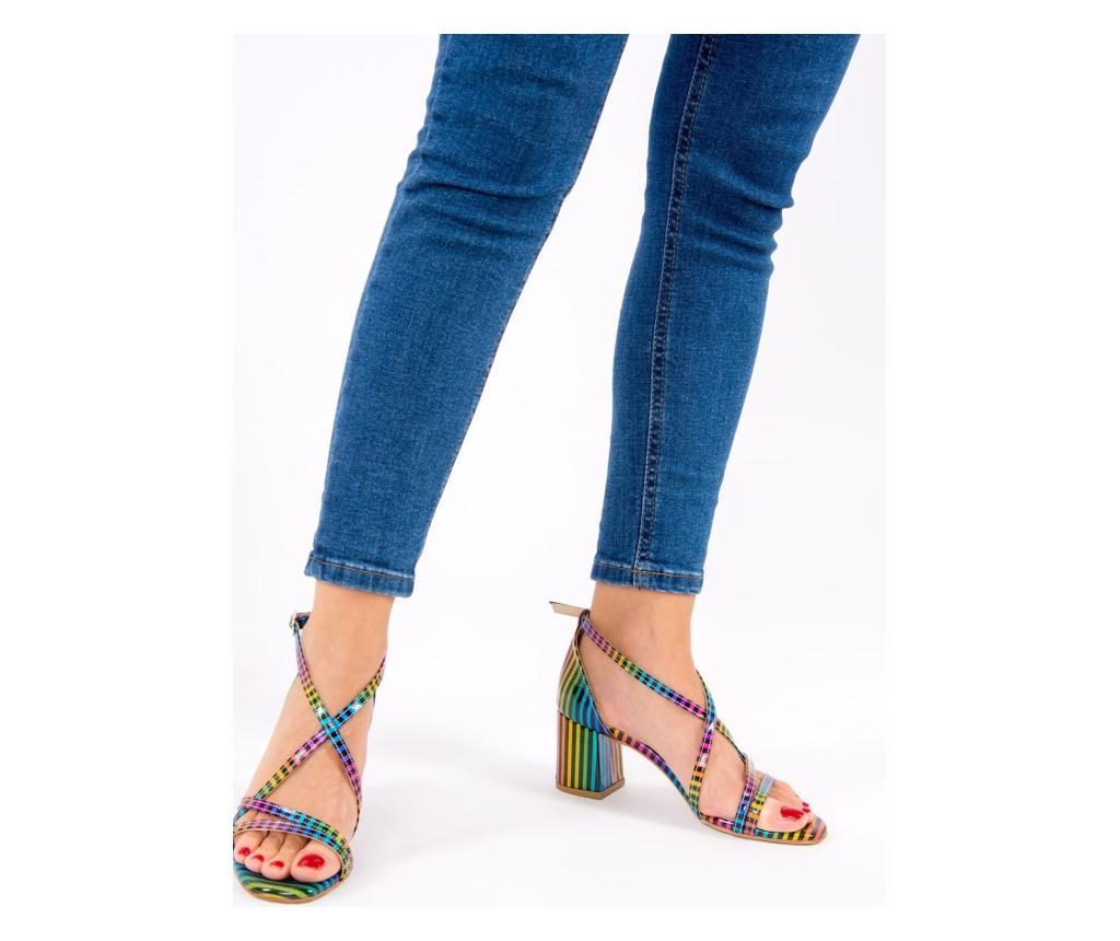 Čevlji z visoko peto Fox Shoes Rainbow 38