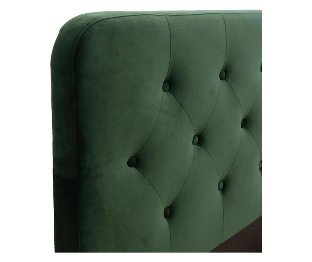 Postelja Victoria Dark Green 160x200 cm