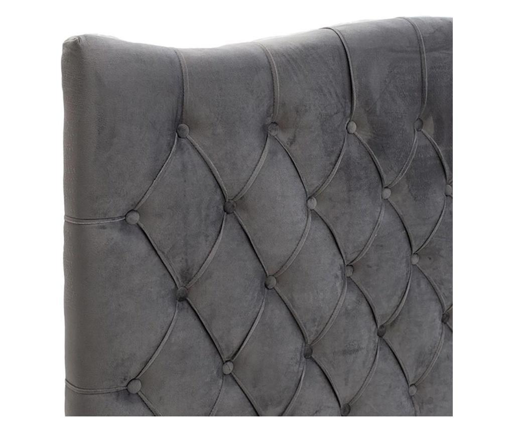 Łóżko Dubai Grey 150x200 cm