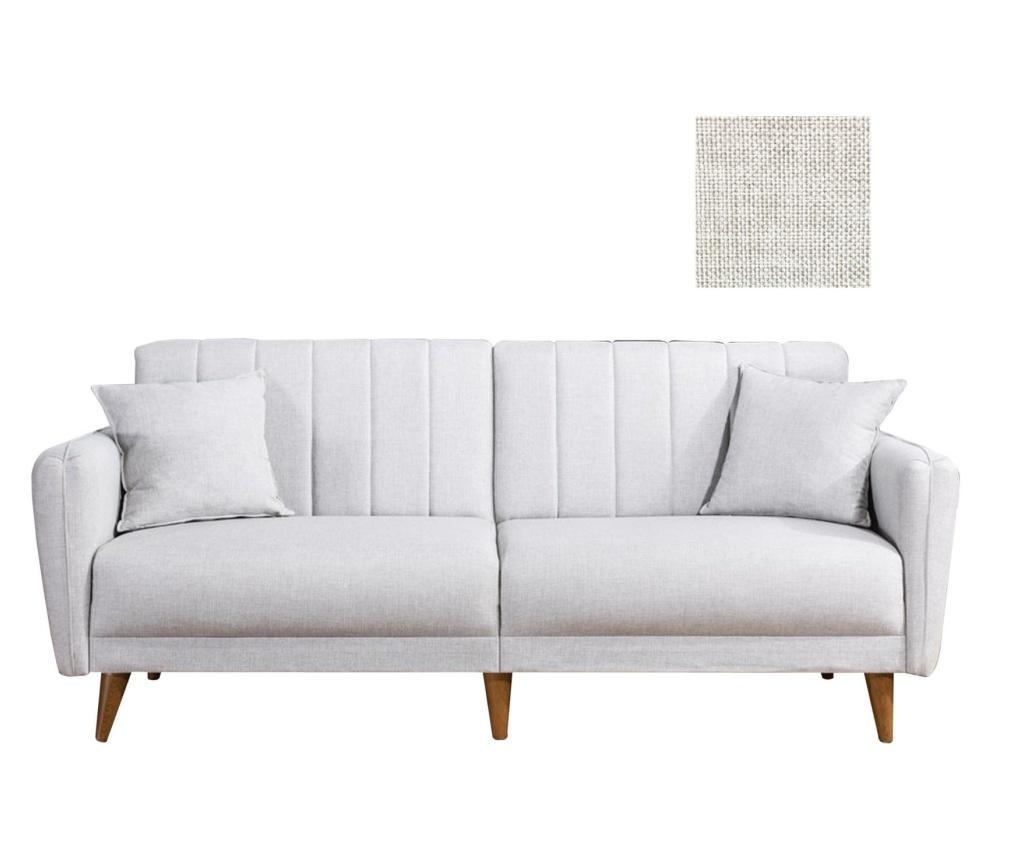 Canapea extensibila cu 3 locuri Tiffany Cream