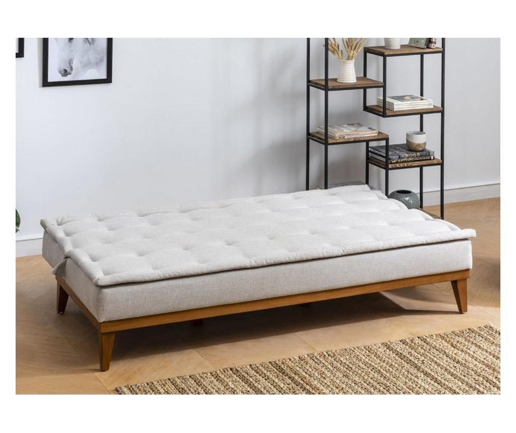 Ralph Cream Kihúzható háromszemélyes kanapé