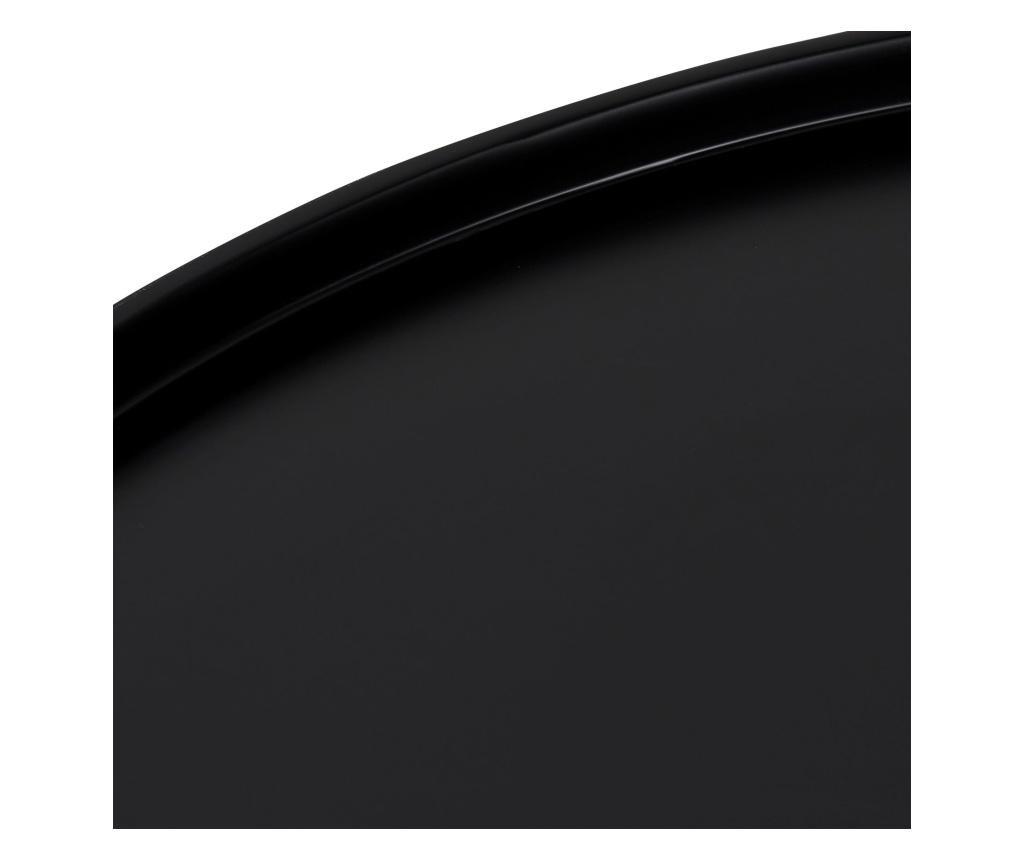 Klubska mizica Opus Large Black