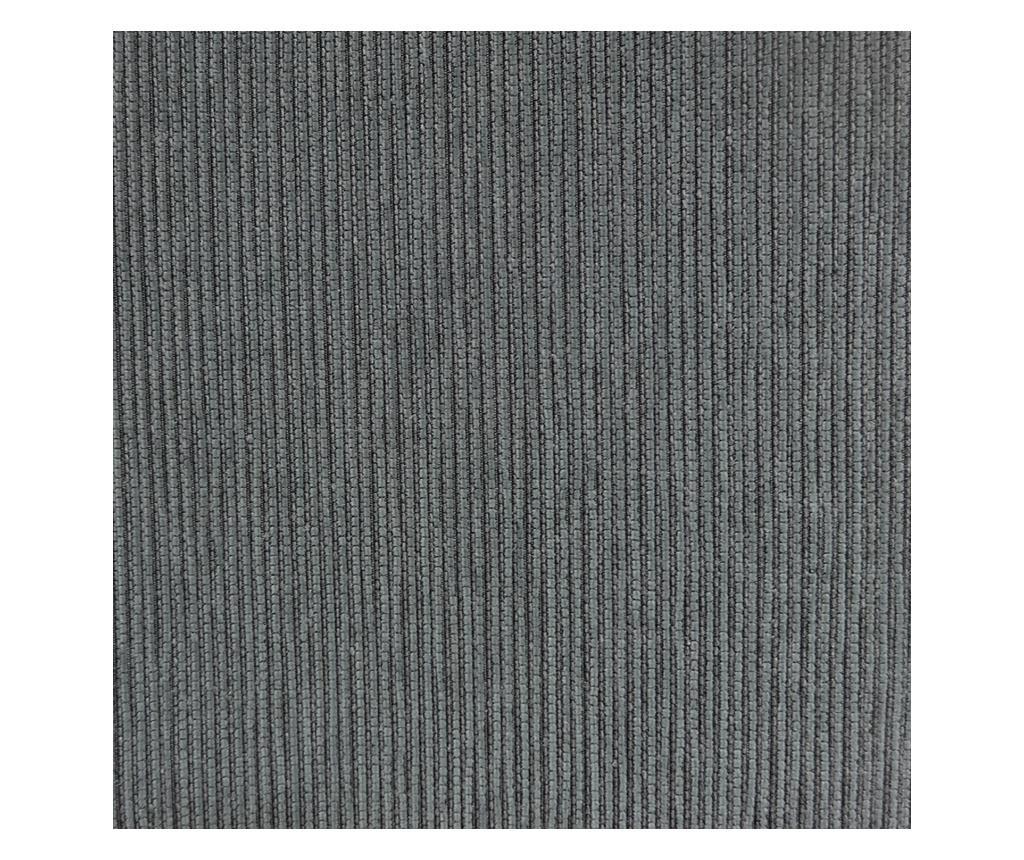 Chenille Salva Grey Háromszemélyes kanapé huzat 170-210 cm