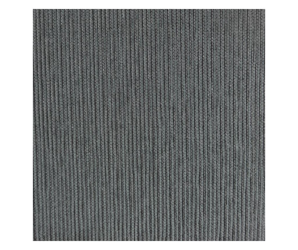Podesiva navlaka za dvosjed Chenille Ties Grey 140-180 cm