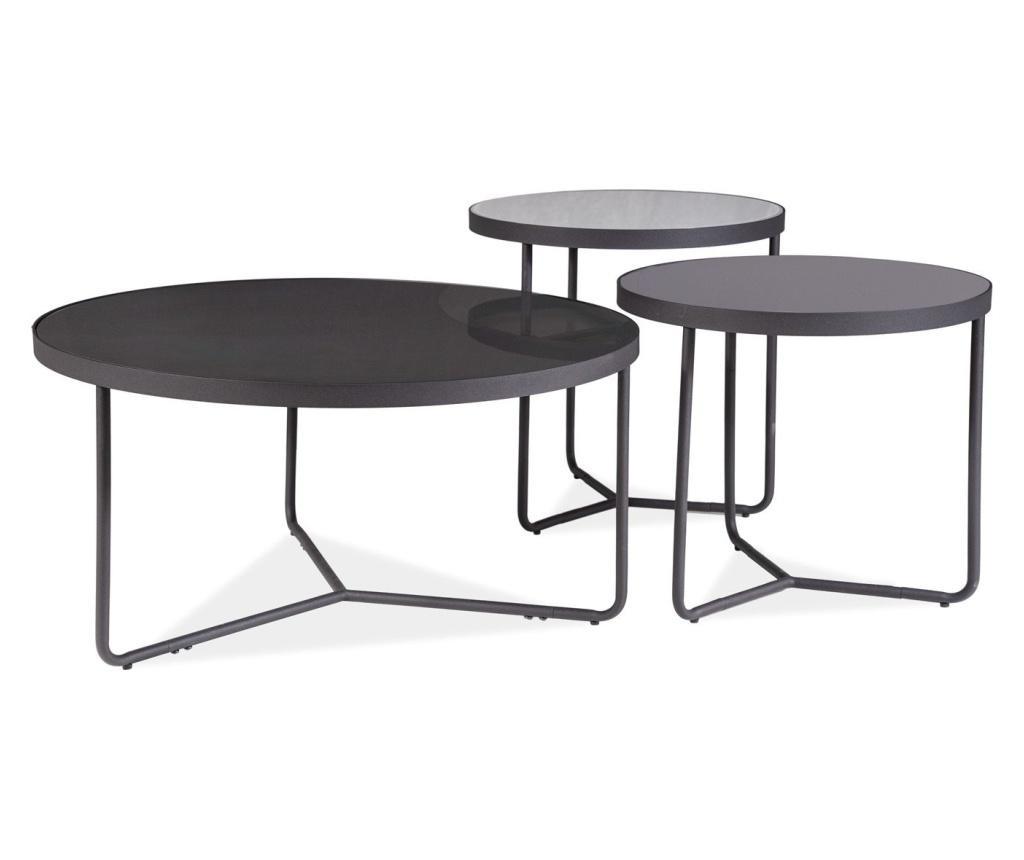 Set 3 stolića za kavu Artemida