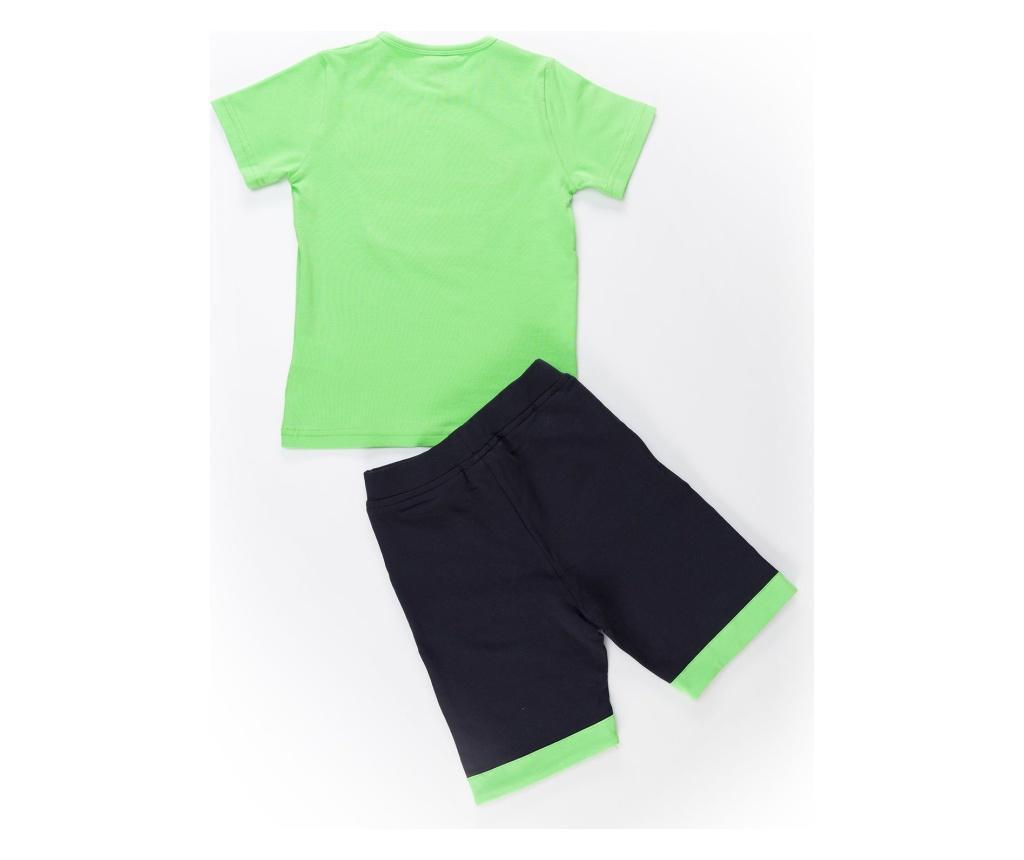 Green Pirate Gyerek póló, rövidnadrág és fejpánt 5 years