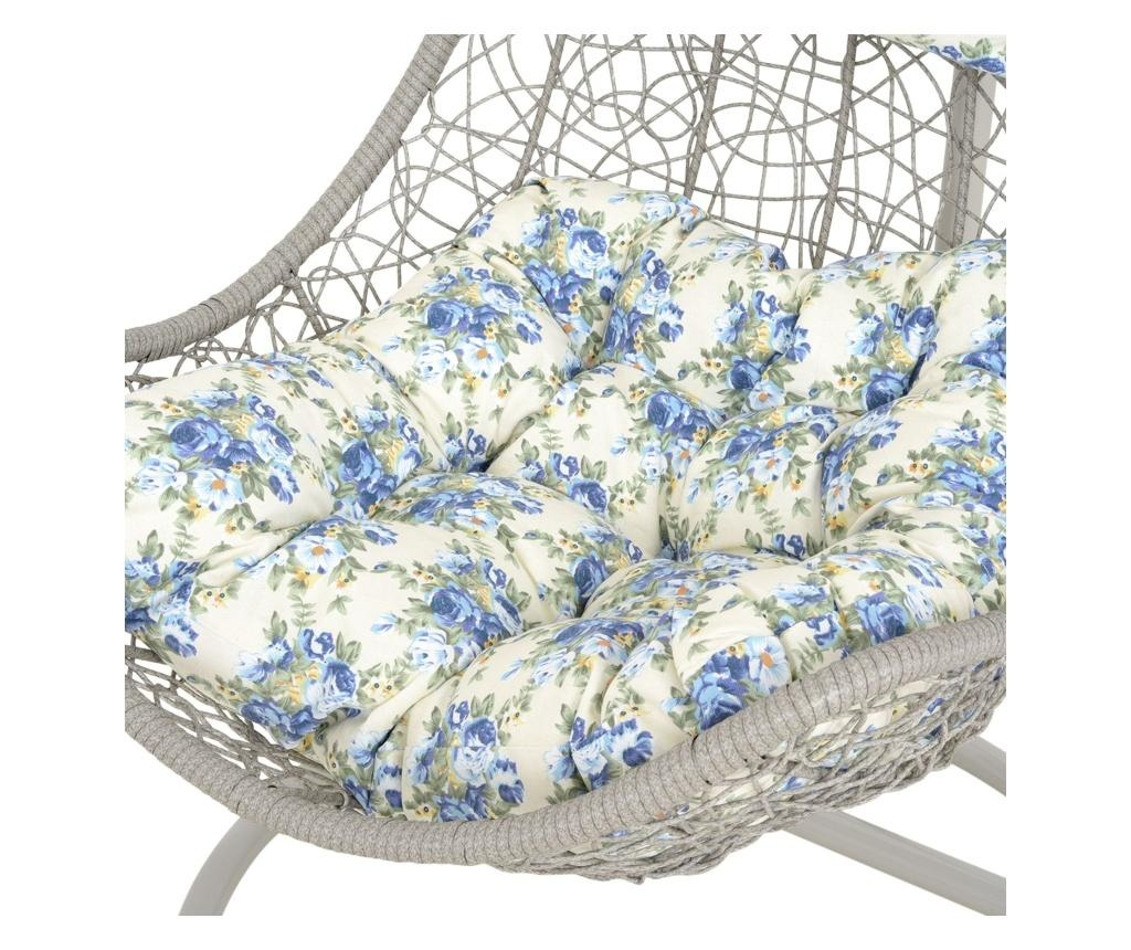 Vrtni gugalni stol Carousel Grey