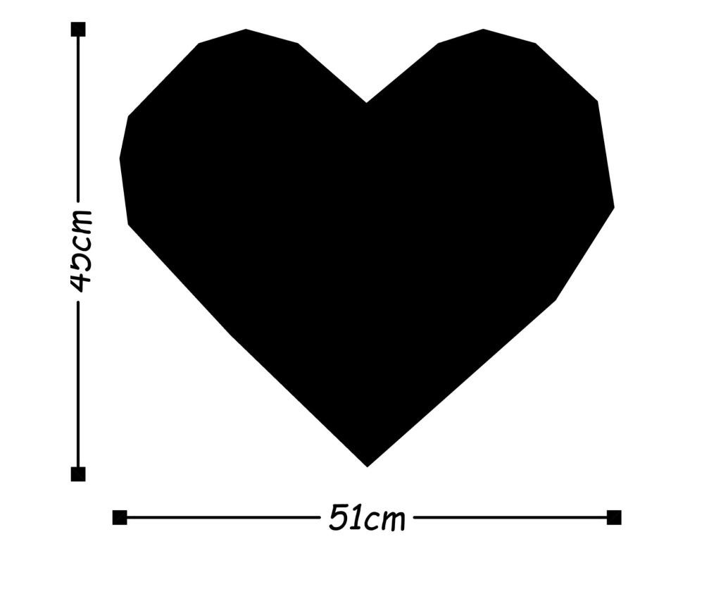 Stenska dekoracija Heart
