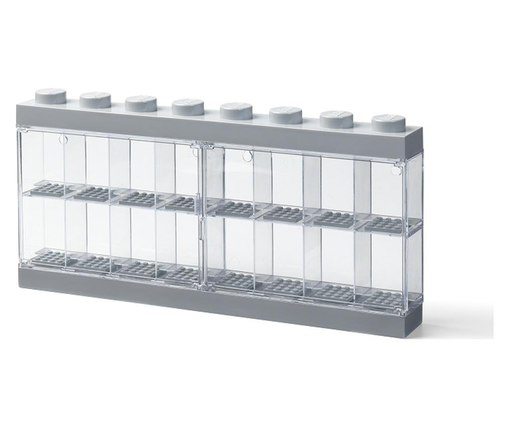 LEGO Grey Sixteen Doboz mini lego figuráknak