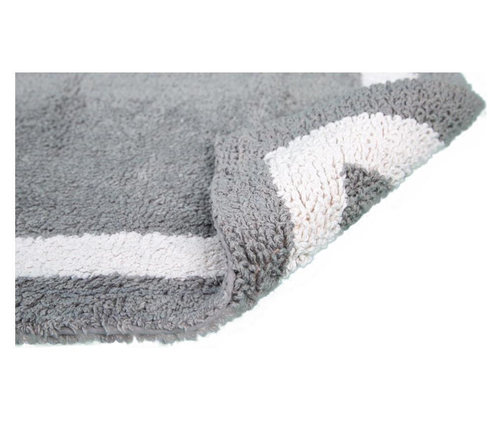 Kopalniška preproga Barnes Grey 53x86 cm