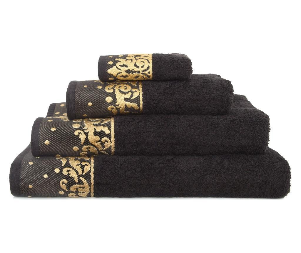 Kupaonski ručnik New Flossy Black 70x130 cm