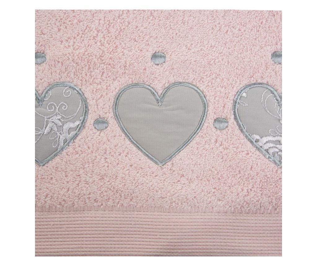 Prosop de baie Aga Pink 70x140 cm