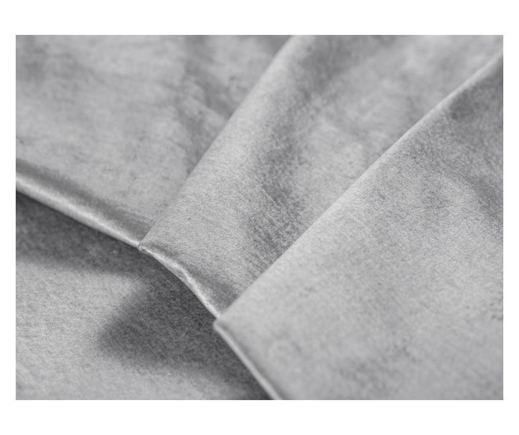 Lijeva kutna garnitura na razvlačenje Liege Velvet Light Grey