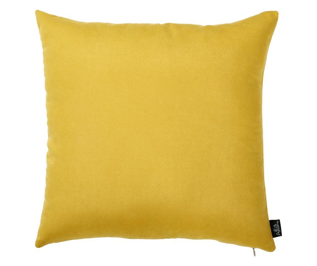 Prevleka za blazino Julia Yellow 43x43 cm