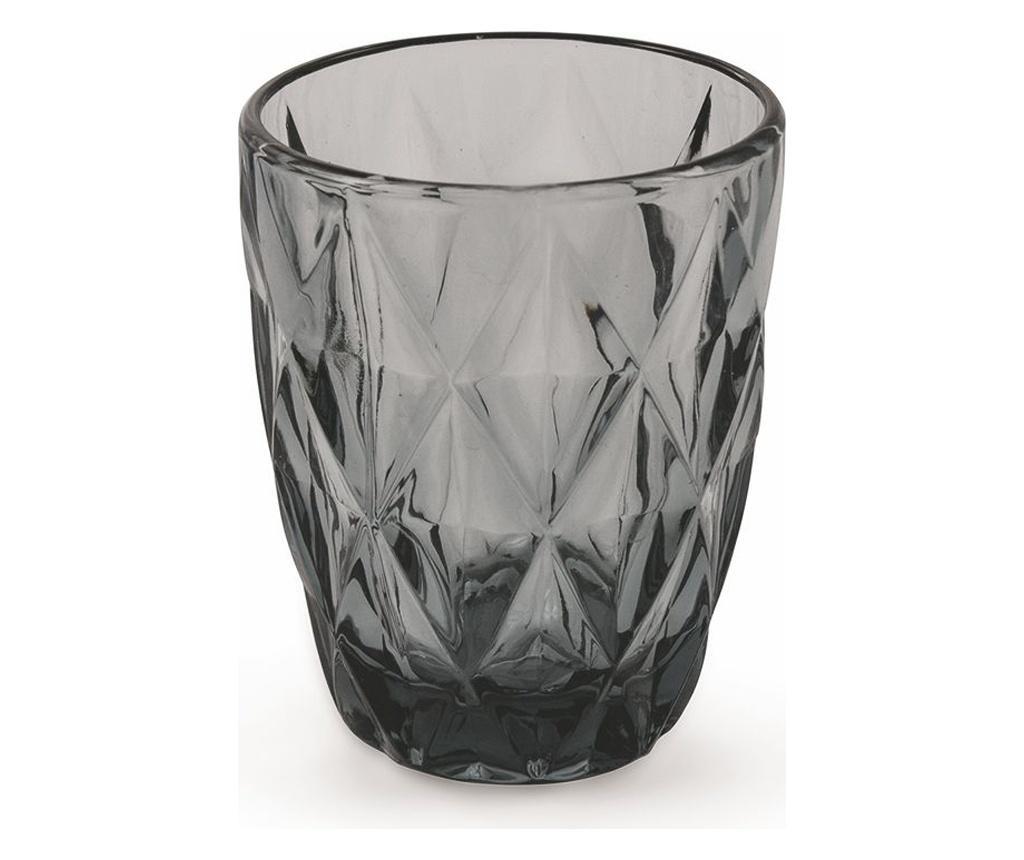 Set 6 čaša za vodu Quarzo Blue 272 ml