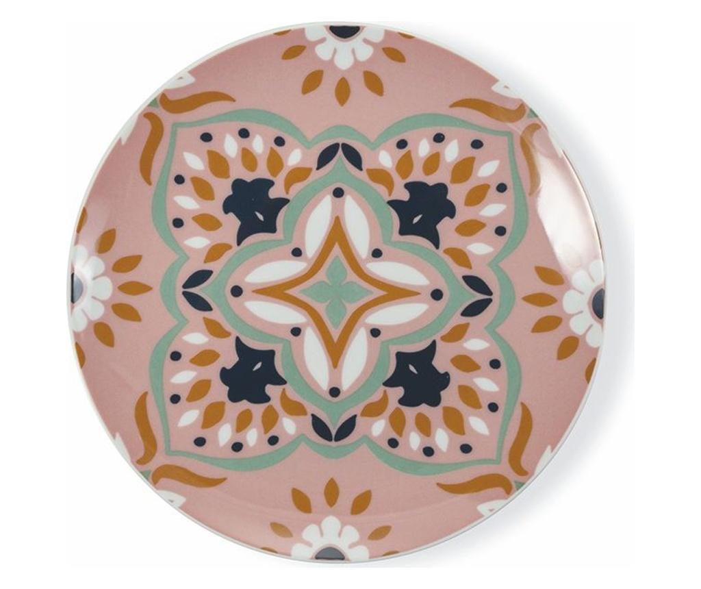 Zastawa stołowa 18 sztuk Cala Tarida Multicolor