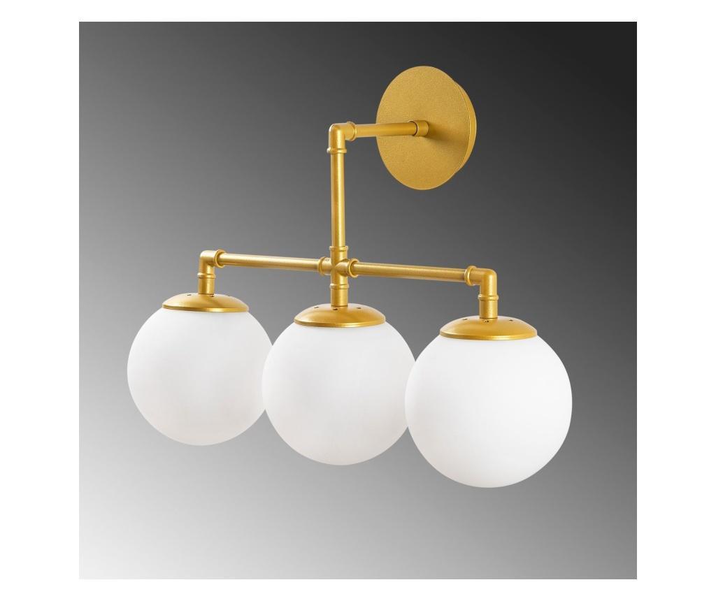 Mudoni Three Gold Fali lámpa