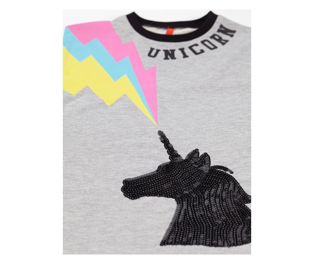 Rochie fete Grey Unicorn 5 years