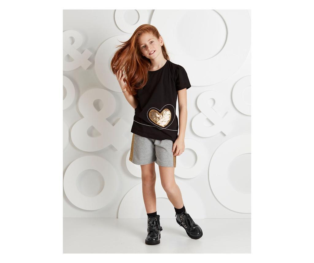 Otroški komplet - majica s kratkimi rokavi in hlače Golden Heart 6 years