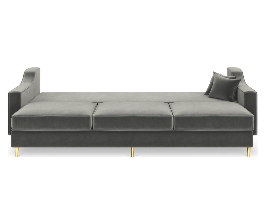 Sofa trosjed na razvlačenje Marigold Dark Grey