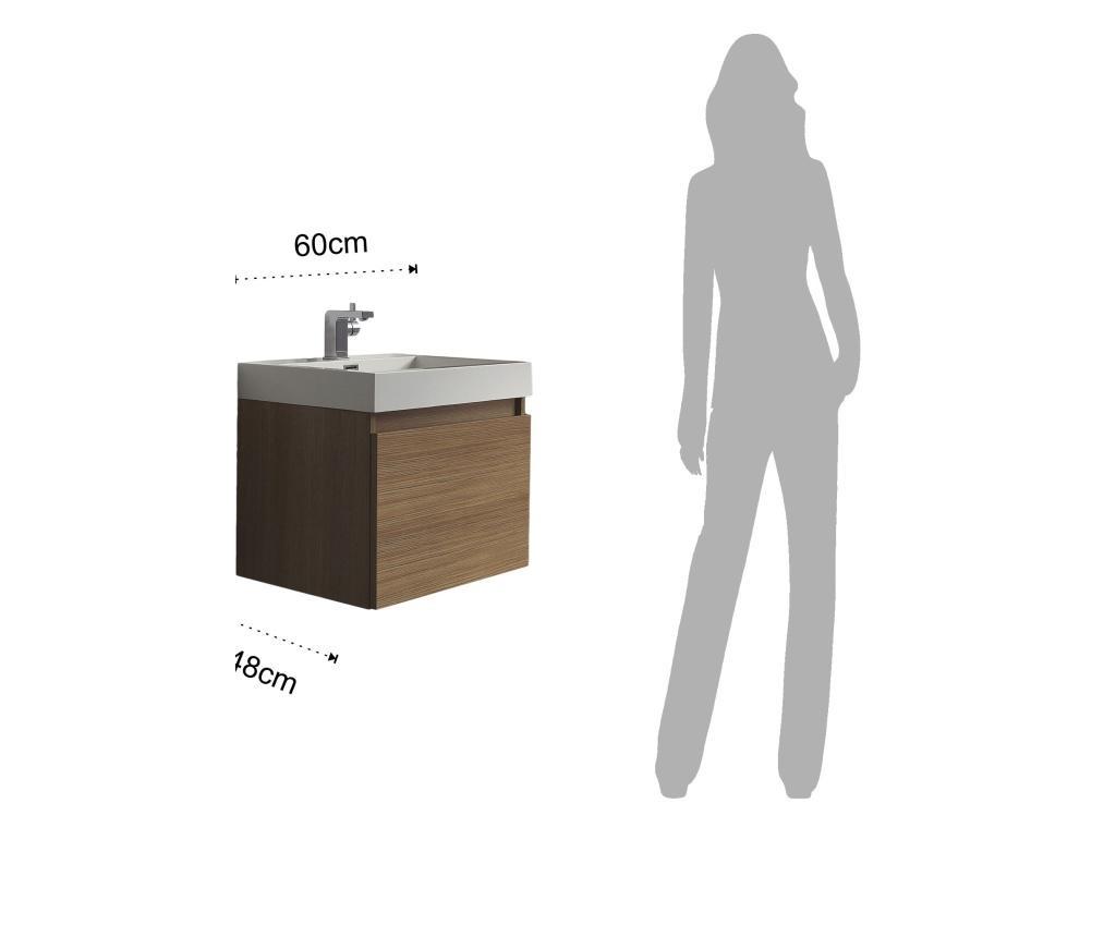 Mosdószekrény és mosdókagyló