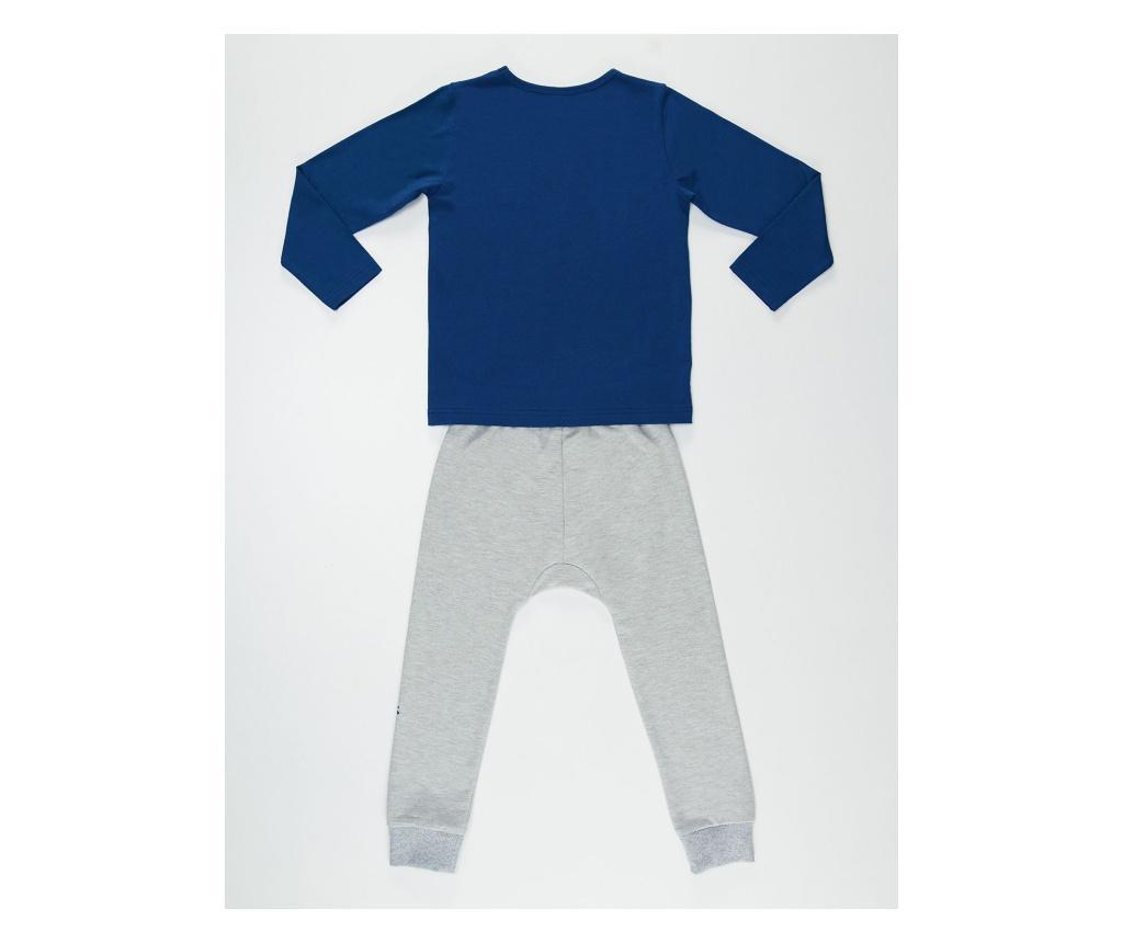 Set bluza si pantaloni Salamander Grey/Navy 7 years