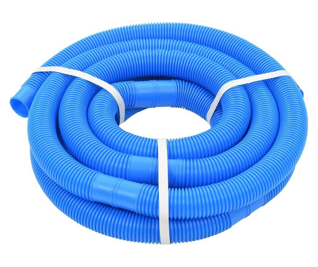Wąż do basenu, niebieski, 38 mm, 6 m
