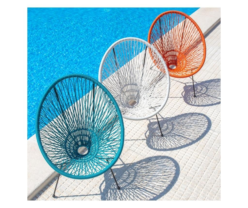 Krzesło ogrodowe Agave Paprika