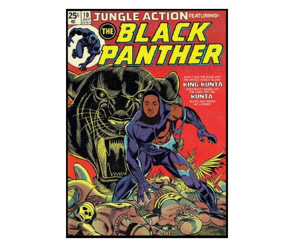 Plakat Black Panther 30x40 cm